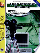 High Interest Reading Great Inventions book