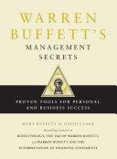 Warren Buffett's Management Secrets Book