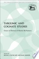 Targumic and Cognate Studies