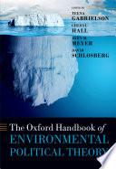 The Oxford Handbook Of Environmental Political Theory : political theory (ept). through a broad...