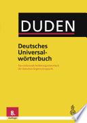 Duden   Deutsches Universalw  rterbuch