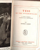 Tess of the D Urbervilles  a Pure Woman Faithfully Presented