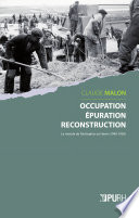 Occupation    puration  reconstruction