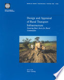 Book Design and Appraisal of Rural Transport Infrastructure