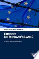 Europe  No Migrant s Land