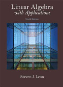 linear-algebra-with-applications