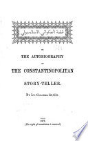 The Autobiography Of The Constantinopolitan Story Teller