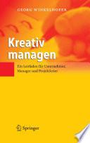 Kreativ managen