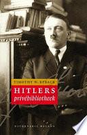 Hitler S Priv Bibliotheek