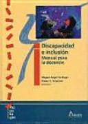 Discapacidad e inclusión : manual para la docencia
