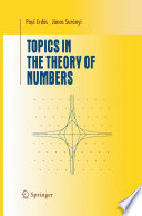 Topics in the Theory of Numbers Pdf/ePub eBook