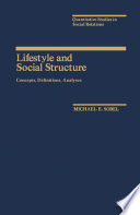 Lifestyle and Social Structure