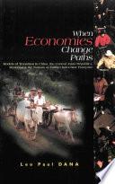 When Economies Change Paths