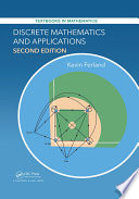Discrete Mathematics and Applications  Second Edition
