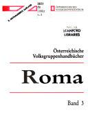 Österreichische Volksgruppenhandbücher: Roma