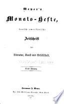 Meyer's Monats-hefte