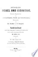Deutschlands Handel und Industrie: Band. Brandenburg, Schlesien, Ostpreussen