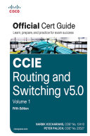 CCIE Routing And Switching V5 0 Official Cert Guide : fifth edition ccie routing and switching v5.0...