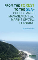 From the Forest to the Sea – Public Lands Management and Marine Spatial Planning
