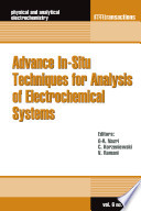 Advance In Situ Techniques for Analysis of Electrochemical Systems