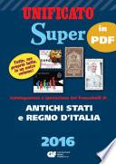 CATALOGO SUPER 2016   CAPITOLO ANTICHI STATI   REGNO D ITALIA