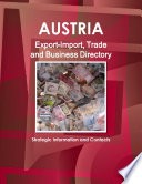 Austria Export Import  Trade and Business Directory   Strategic Information and Contacts