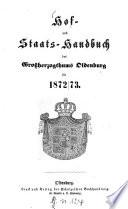Hof- und Staatshandbuch des Großherzogtums Oldenburg
