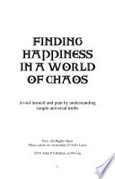 Finding happiness in a world of chaos