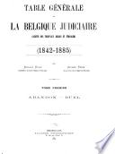 La Belgique judiciaire