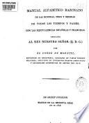 Manual alfabético razonado de las monedas, pesos y medidas de todos los tiempos y países ...