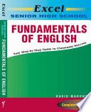 Excel Senior High School Fundamentals Of English book