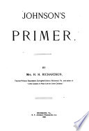 Johnson s Primer Book PDF