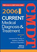Current Medical Diagnosis Treatment 2006