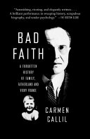 Bad Faith A Forgotten History of Family, Fatherland and Vichy France