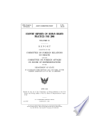 Country Reports on Human Rights Practices for 2008  Vols  I and II
