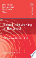 reduced-order-modelling-for-flow-control