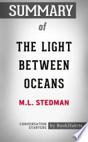 download ebook summary of the light between oceans by m.l. stedman | conversation starters pdf epub