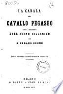 La cabala del cavallo pegaseo per Giordano Bruno