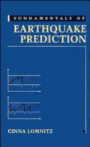 Fundamentals of Earthquake Prediction