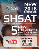 New York City New Shsat Test Prep 2018  Specialized High School Admissions Test  Argo Brothers