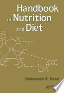 Handbook of Nutrition and Diet Food Nutrients And Their Functions;