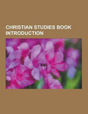 Christian Studies Book Introduction