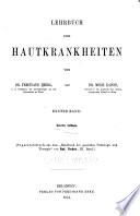 Handbuch der speciellen Pathologie und Therapie