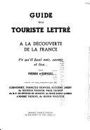 Guide de touriste lettré à la découverte de la France