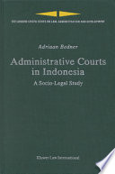 Administrative Courts In Indonesia