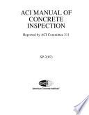 ACI Manual of Concrete Inspection