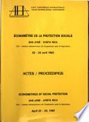 conom  trie de la Protection Sociale