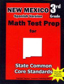 New Mexico 3rd Grade Math Test Prep Spanish Version