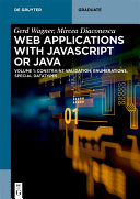 Developing Web Applications with UML and and Javascript Or Java