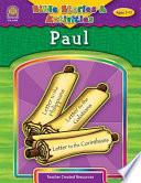 Bible Stories   Activities  Paul